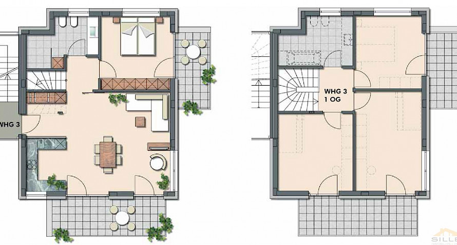 newly build 5 room apartment with garden in low energy buidling Bild