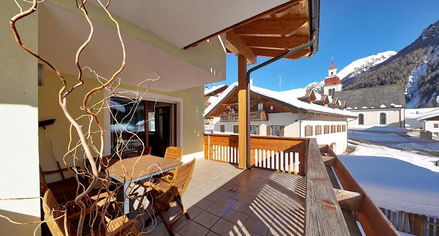 Trilocale moderno rustico in casa clima immobilien siller