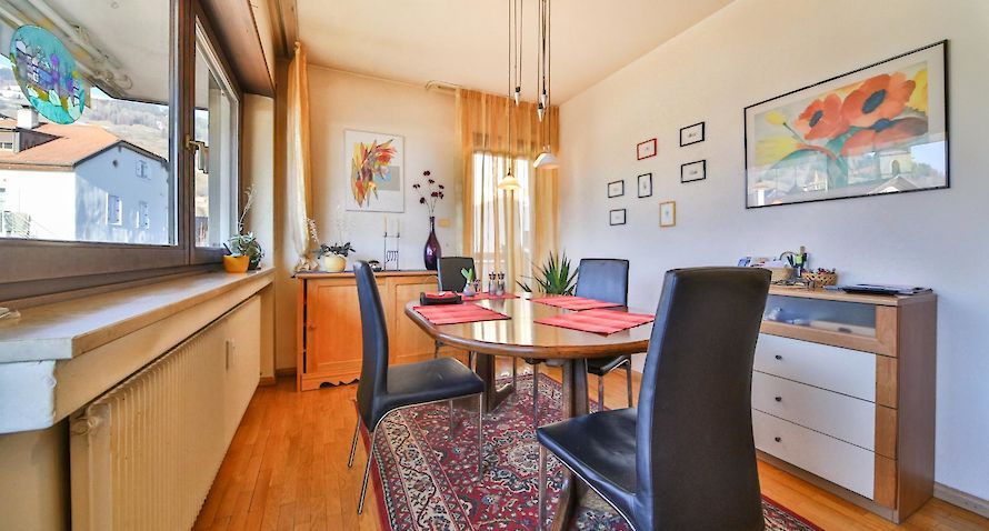 panoramical view: spacious 3-roomed apartment Bild